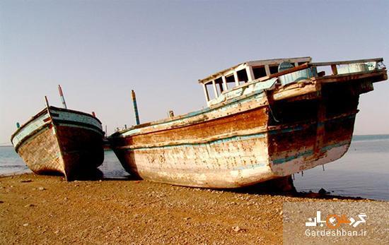 بندر خمیر؛ از دنج ترین جزایر ایرانی، عکس