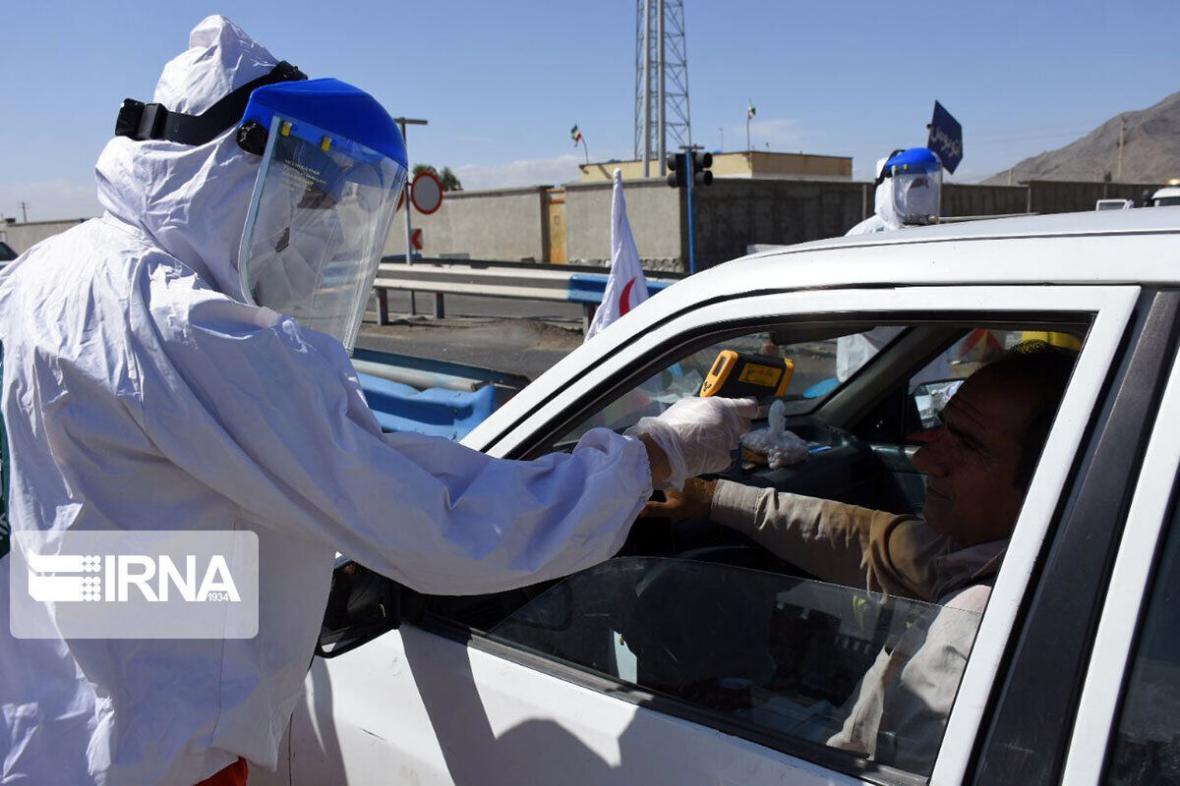 خبرنگاران ورود خودروهای غیربومی دارای پلاک استان های با شرایط قرمز ممنوع است