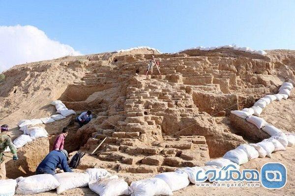 بقایای دژ تاریخی در محوطه ریوی خراسان شمالی کشف شد
