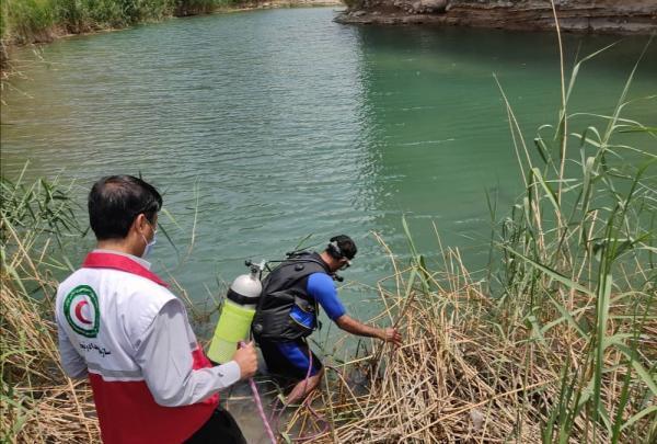 خروج پیکر بی جان فرد 42 ساله از رودخانه هلیل رود