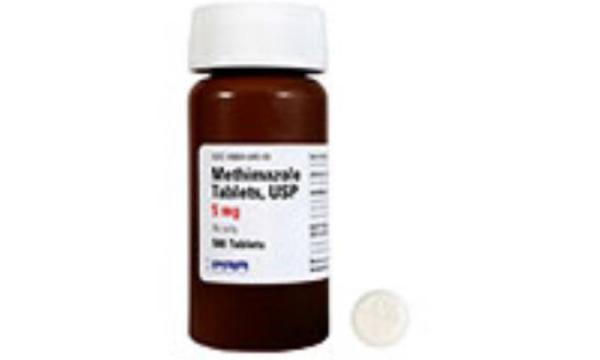 متی مازول (METHIMAZOLE)